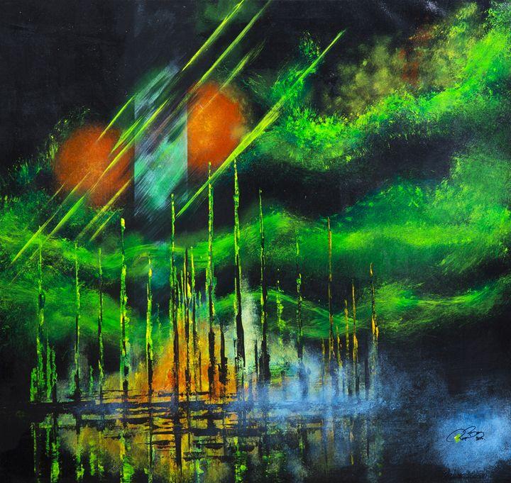 green sky city - Roger Berg