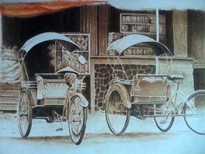 Becak Antik