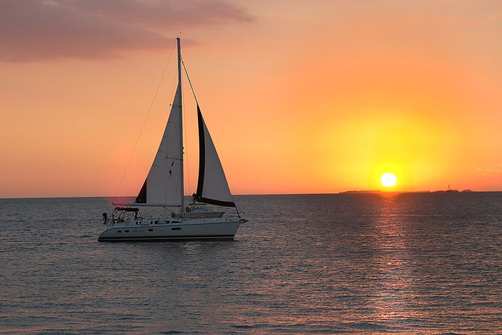 Sailboat in Key West - Carl Purcell - Global Photography