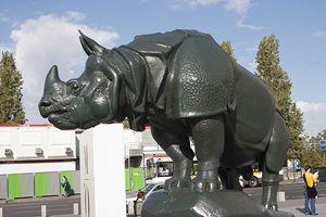 Rhinocerous in Paris