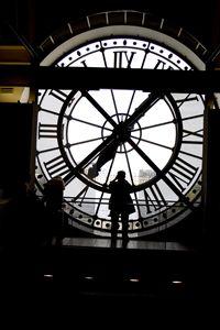 Giant Clock in Paris