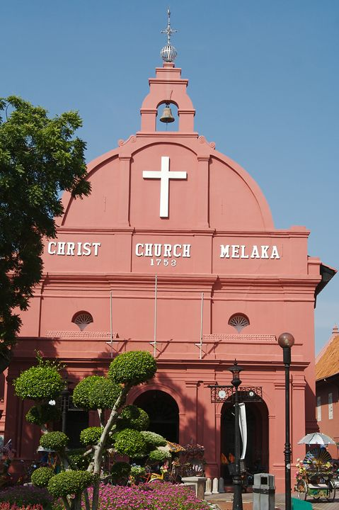 Christ Church in Kuala Lampur - Carl Purcell - Global Photography