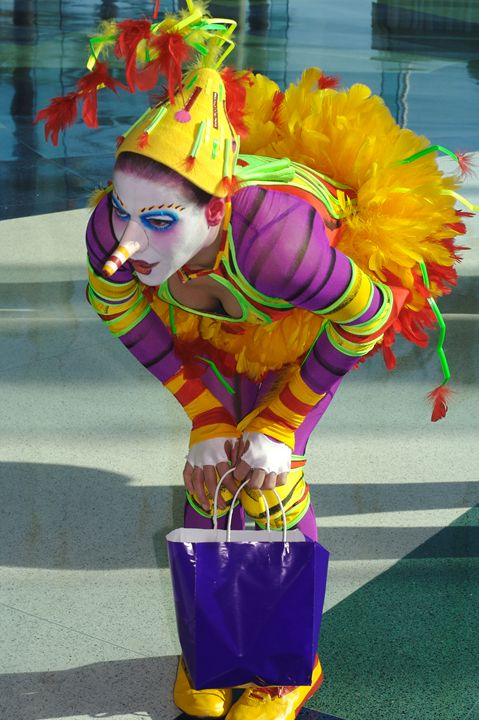 Cirque de Soleil Clown - Carl Purcell - Global Photography