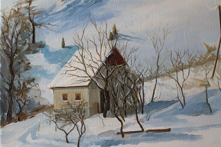 Winter landscape - Neda Krstic