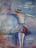 Original Watercolor and Acrylic
