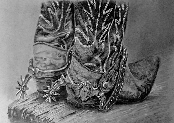 spurs - Pencil by Nail