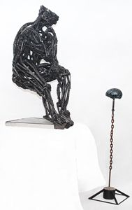 The Re-Thinker - Alexander Khah | Sculpture & Painting