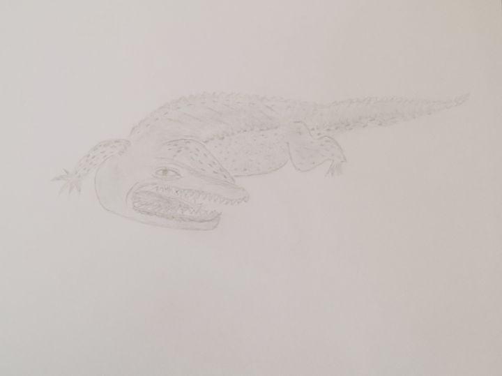 Crocodile - Holly's Gallery of Art