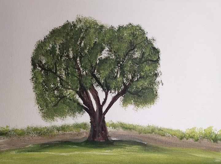 Lonely tree - Leah