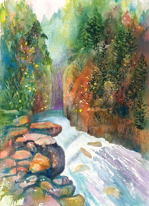 Deep in the Canyon - Lorie Bramley