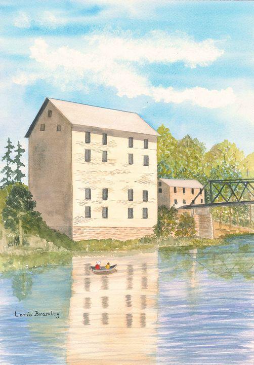 Motor Mill, Elkader, Iowa - Lorie Bramley
