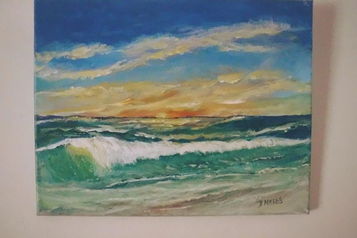 Sunset. SOLD - Dave'sArt
