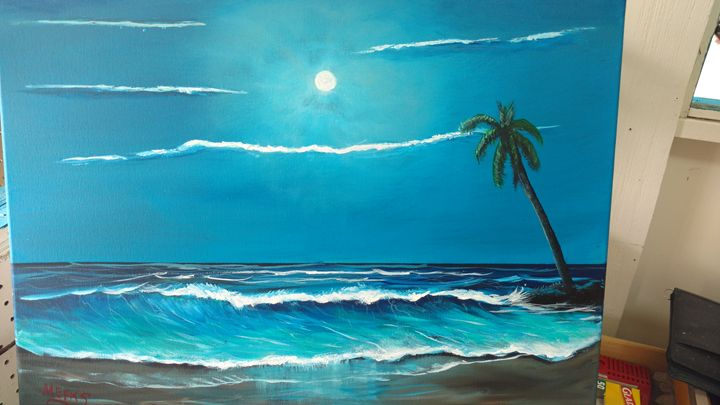 Blue Moon - Dave'sArt