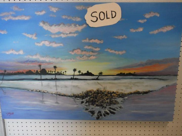 Sunset Beach - Dave'sArt
