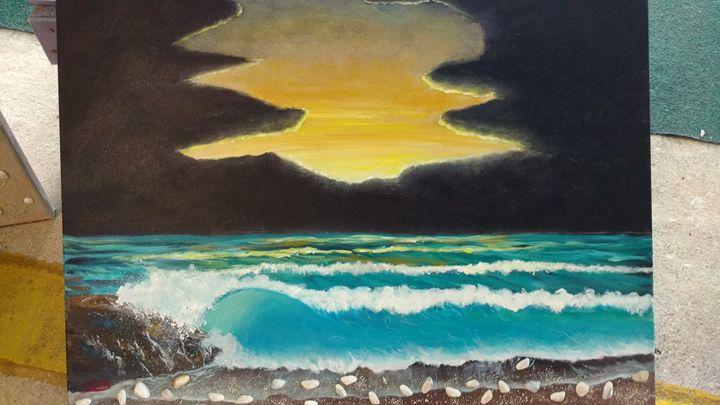MID NIGHT SUN - Dave'sArt