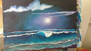 PURPLE MOONLIGHT  SOLD