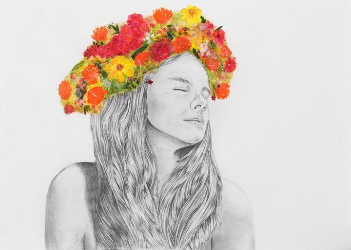 Flower Girl - AWH Art & Photography
