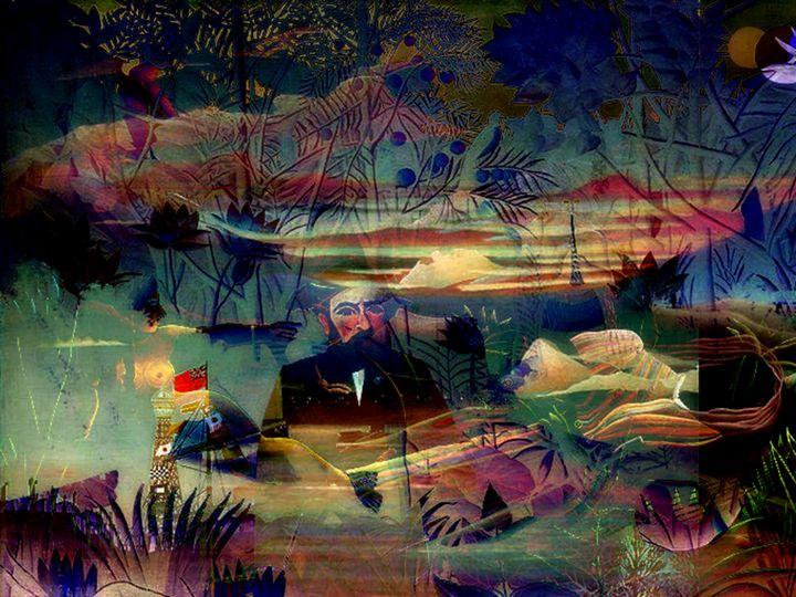 HenRouss Collage - Sonia Glez