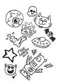 Drawing on Sketchbook Paper