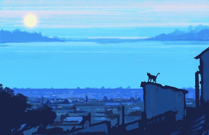 Roof blue - GANJAKYUN