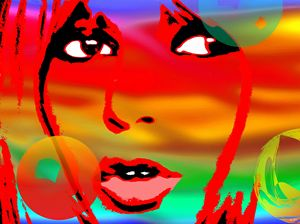 Brigitte Bardot Pop Art Painting