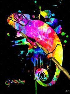 Chameleon Splash
