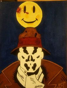 Rorschach in the night