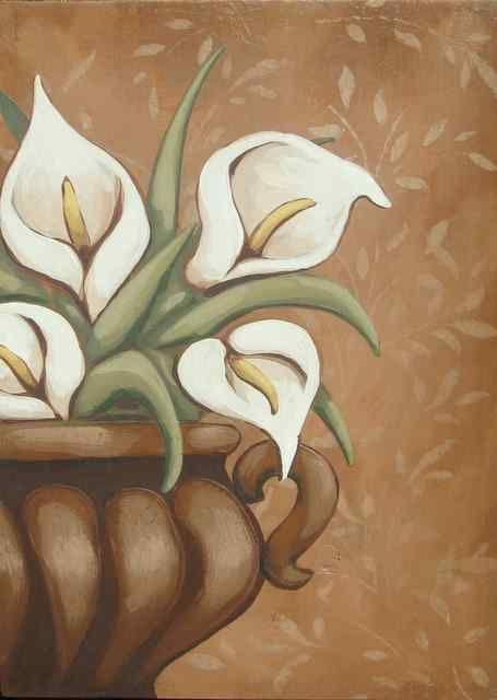 Calla Lilies - Annie Lane Folk Art