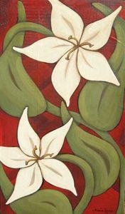 WILD Lilies - Annie Lane Folk Art