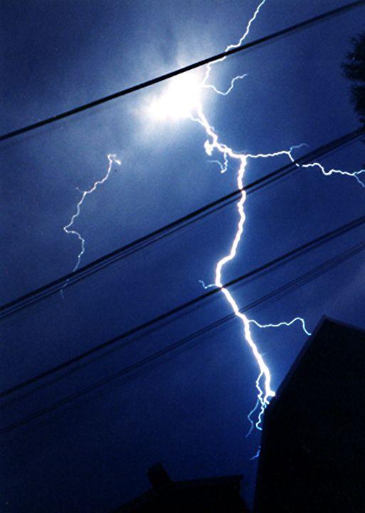 Lightning Strike - Emily O'Donnell's Fine Art Photography