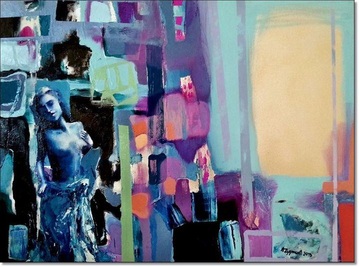 PATIENCE, 2013 cm. 80 x 60 - Anna Zygmunt Art