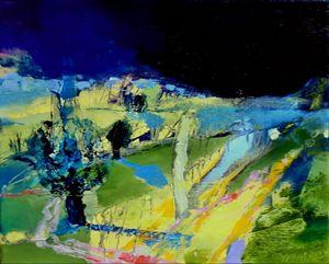 VILLAGE 1 , 2013,Oil on canvas