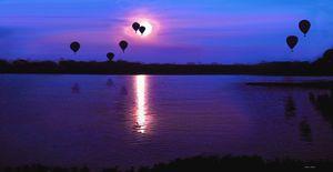 Balloons at Lake Shawnee