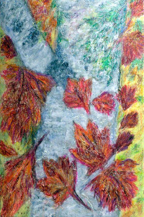 Autumn Birch - StephenMeadArt