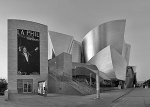 Walt Disney Concert Hall - B&W
