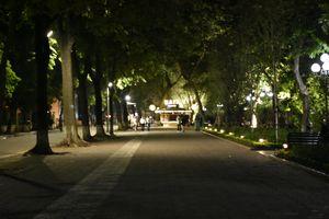 Walking Street at the midnight