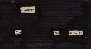 ...Artists!