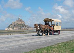 Mont St. Michel - Horse & Carriage