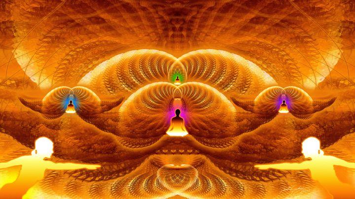Cosmic Spiral Ascension 34 - SacredLife Arts
