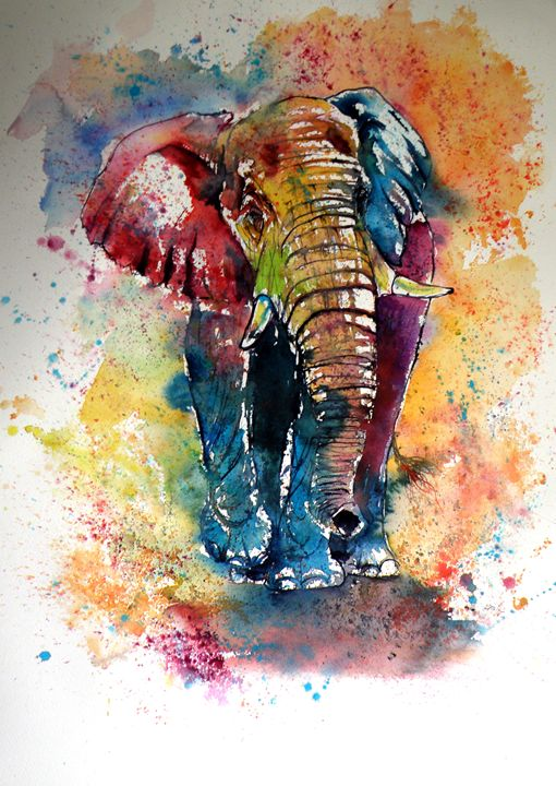 Funny elephant - kovacsannabrigitta