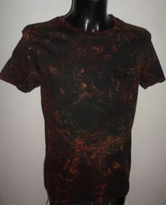 Men Multi Coloured tie dye  t-shirt