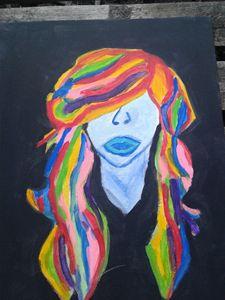 hair of neon