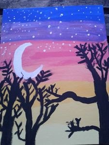 first painting tree
