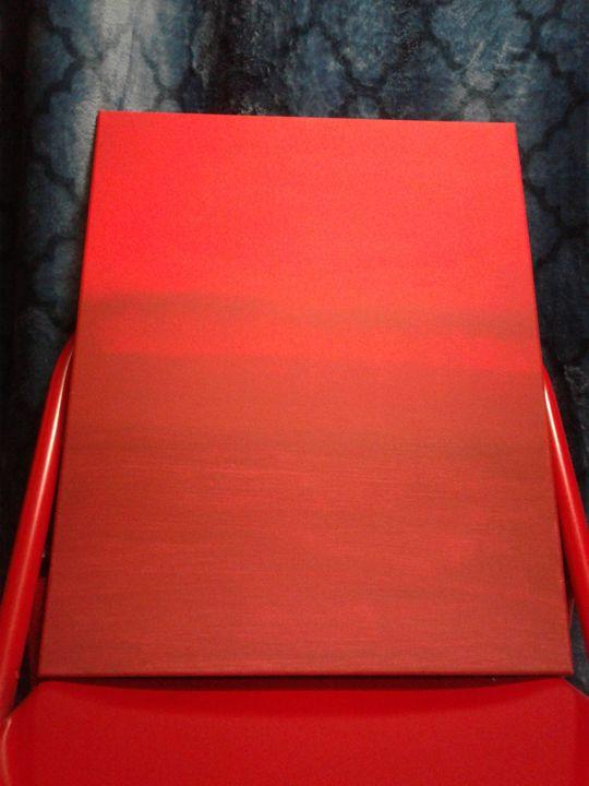 red chair - Kristi Matthew