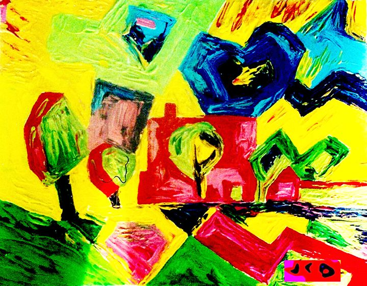 My painting - Jean-Claude Delhaise