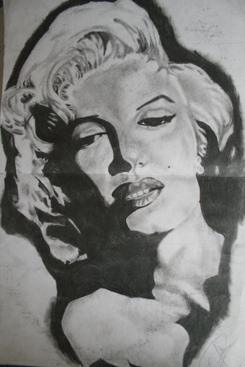 Marylin Monroe - Darien's art