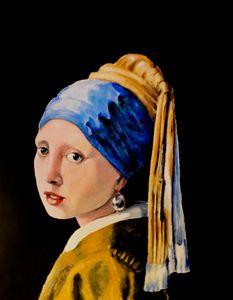 vermeer girl with pearl earing