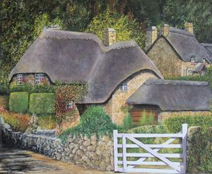 old english cottage - indiecarving