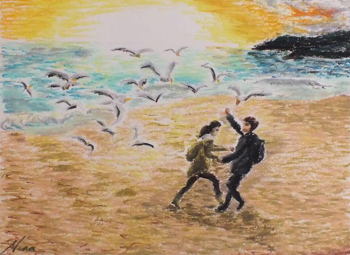 Seagulls of Busan - Nina Sofia