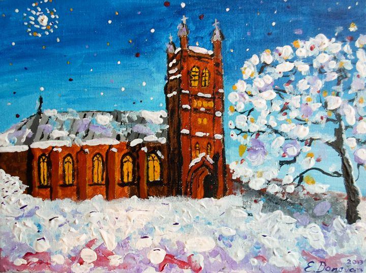 White Christmas at St. Andrew's - Eliza Donovan